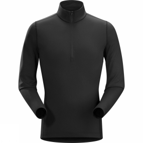 Men's Phase AR Long Sleeve Zip Neck from Arc'teryx