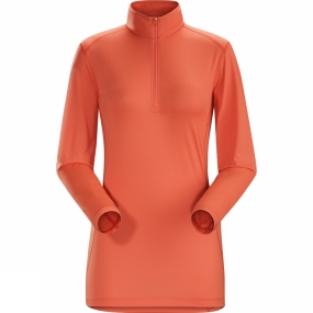 Womens Phase SL Long Sleeve Zip Neck from Arc'teryx