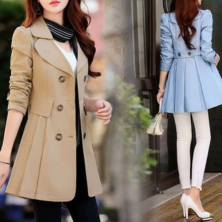 Double-Breasted Trench Coat from Ariadne