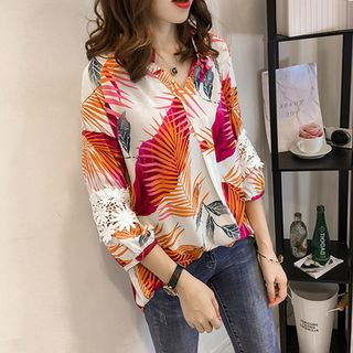 3/4-Sleeve Printed Top from Arroba