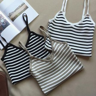 Striped Knit Camisole from Arroba