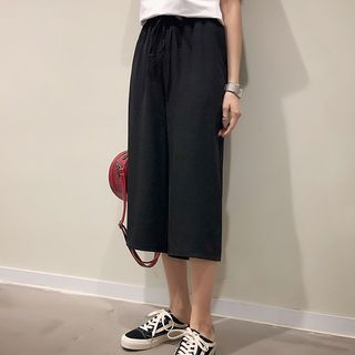 Cropped Wide-Leg Pants from Ashlee