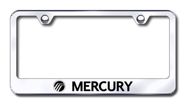 Mercury Laser Etched Stainless Steel License Plate Frame from Automotive Gold