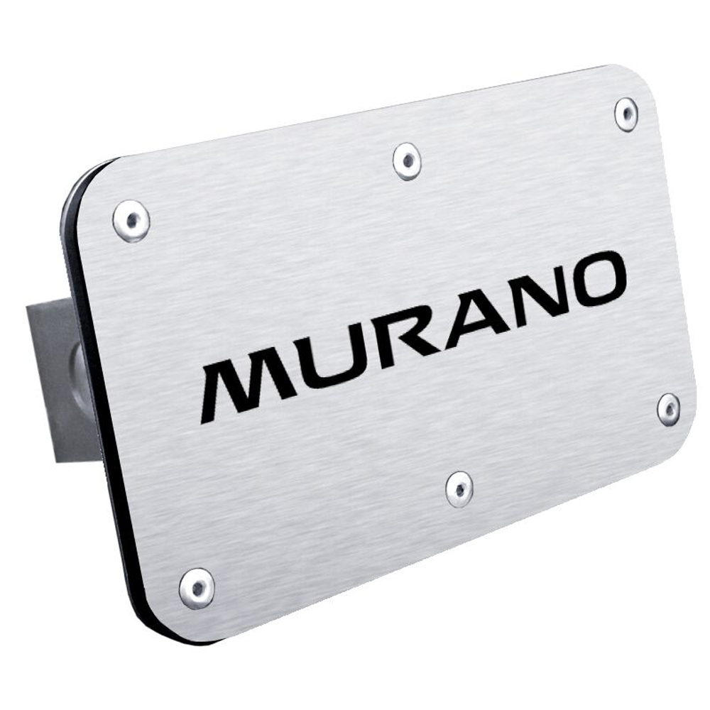 Nissan Murano Stainless Steel Name Hitch Plug from Automotive Gold