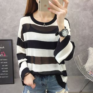 Striped Knit Top from Autunno