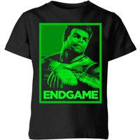 Avengers Endgame Hulk Poster Kids' T-Shirt - Black - 5-6 Years - Black from Avengers: Endgame