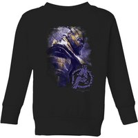 Avengers Endgame Thanos Brushed Kids' Sweatshirt - Black - 7-8 Years - Black from Avengers: Endgame