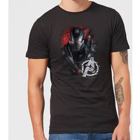 Avengers Endgame War Machine Brushed Men's T-Shirt - Black - XL - Black from Avengers: Endgame