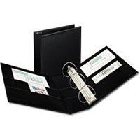 "Durable Binder with Two Booster EZD Rings, 11 x 8 1/2, 4"", Black from Avery"