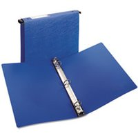 "Hanging Storage Binder with Gap Free Round Rings, 11 x 8 1/2, 1"" Capacity, Blue from Avery"