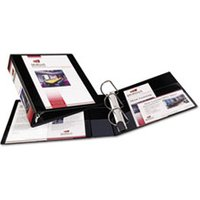 "Heavy-Duty Non Stick View Binder w/Slant Rings, 2"" Cap, Black from Avery"