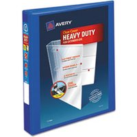 "Heavy-Duty View Binder w/Locking EZD Rings, 1"" Cap, Pacific Blue from Avery"