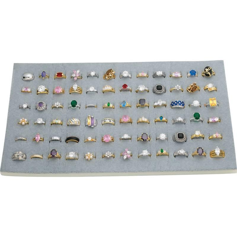 72pc Ring Display Unit from B&F System, Inc.