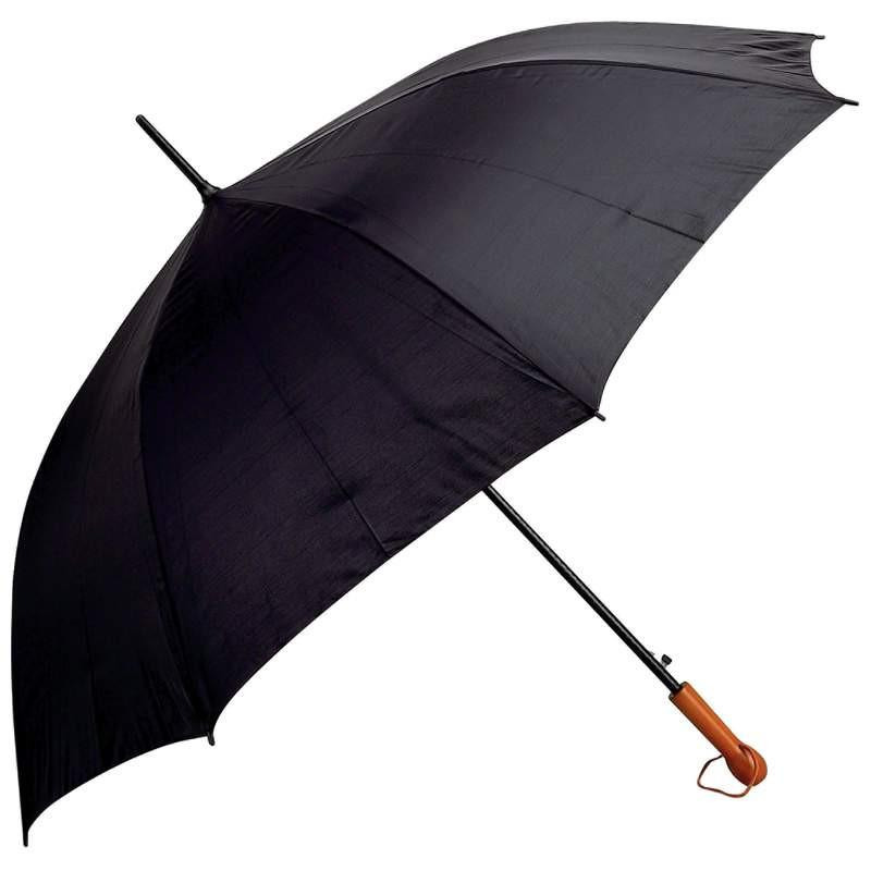 "All-Weather Elite Series 60"" Black Auto Open Golf Umbrella from B&F System, Inc."