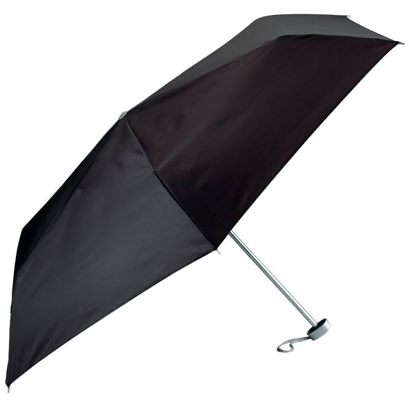 All-Weather Solid Black Mini Umbrella from B&F System, Inc.