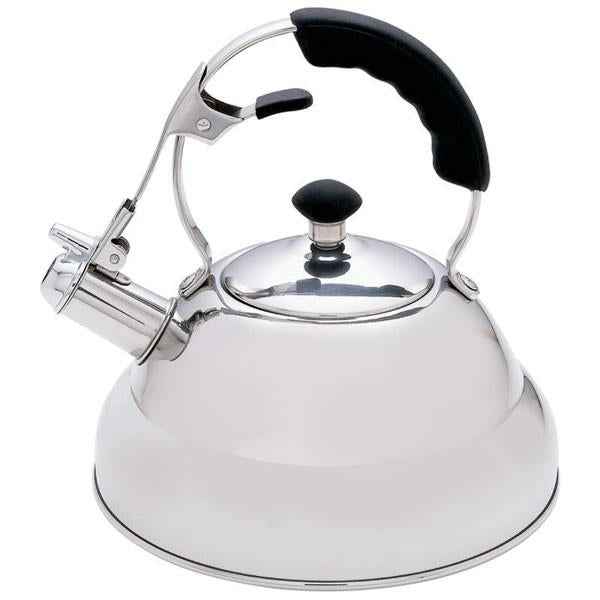 Chef's Secret® 2.75qt Surgical Stainless Steel Tea Kettle with Copper Capsule Bottom from B&F System, Inc.