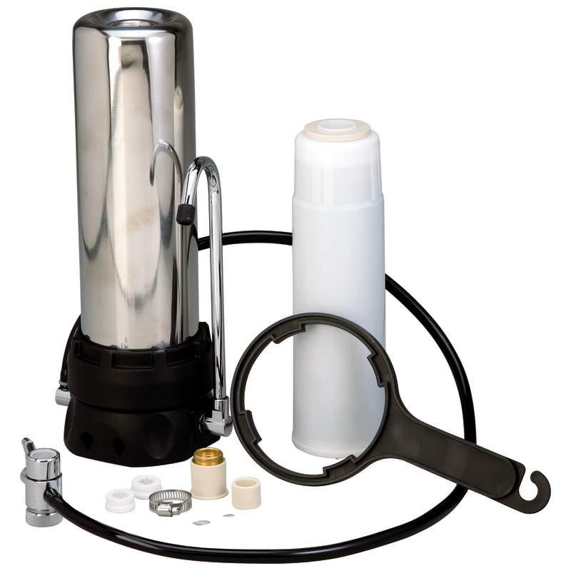 Countertop Stainless Steel Water Filter from B&F System, Inc.