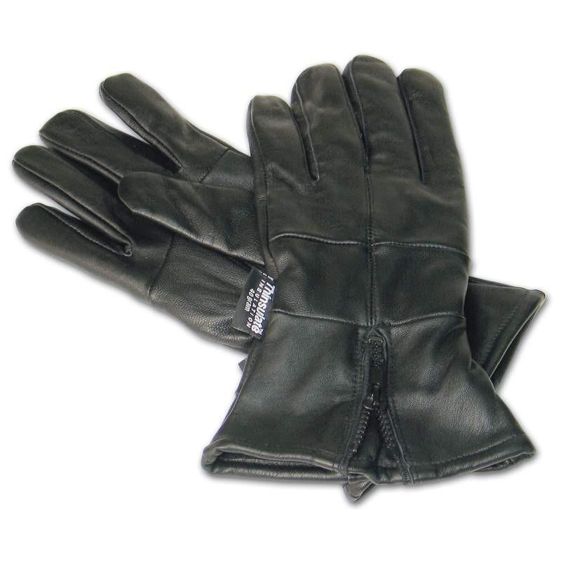 Diamond Plate Solid Genuine Leather Gloves from B&F System, Inc.
