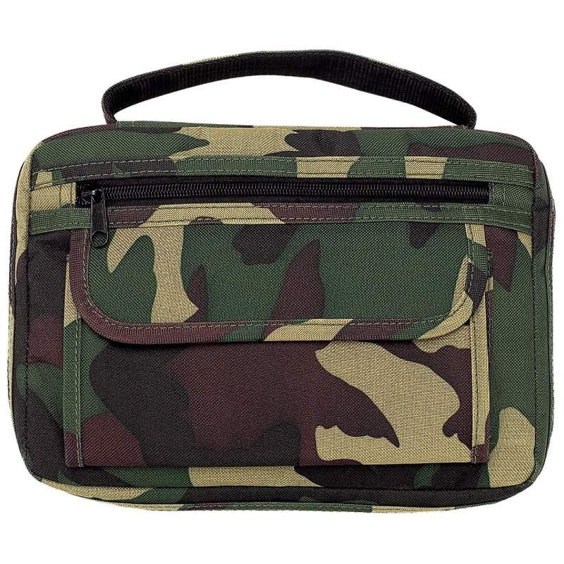 Embassy Camouflage Bible Cover from B&F System, Inc.