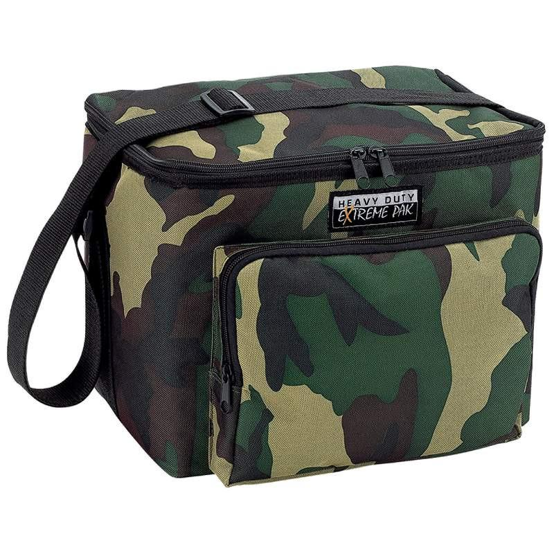 Extreme Pak Heavy-Duty Camouflage Cooler Bag from B&F System, Inc.