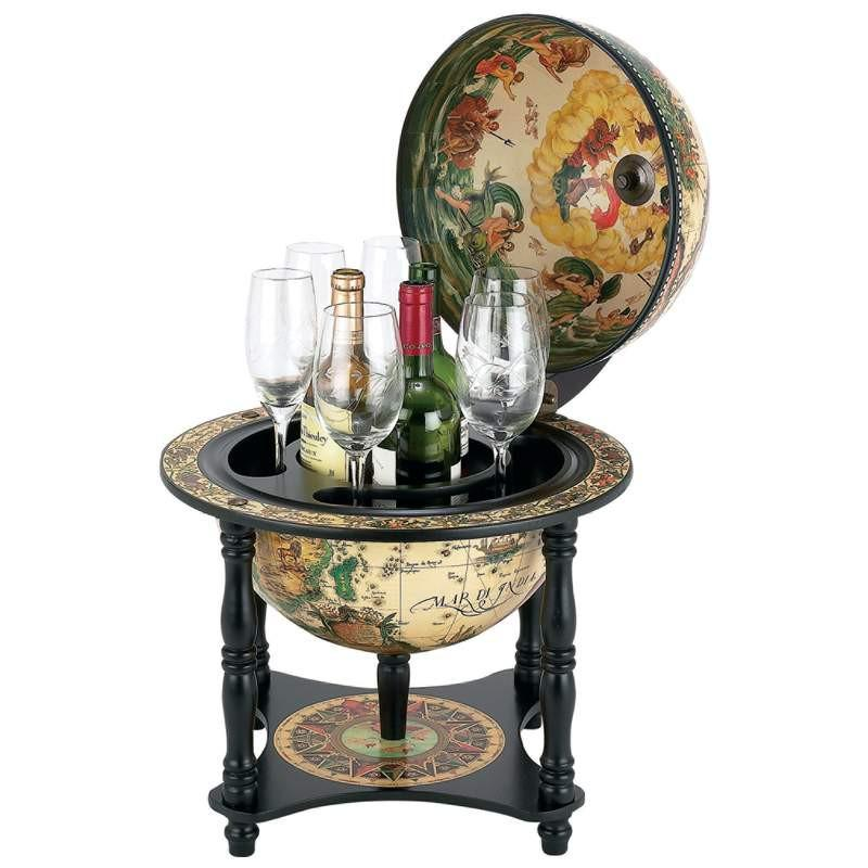 "Kassel™ 13"" Diameter Italian Replica Globe Bar from B&F System, Inc."