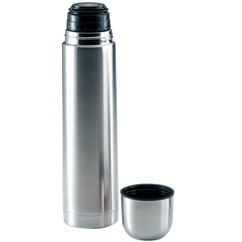 "Maxam 13"" - 1qt Stainless Steel Vacuum Bottle from B&F System, Inc."