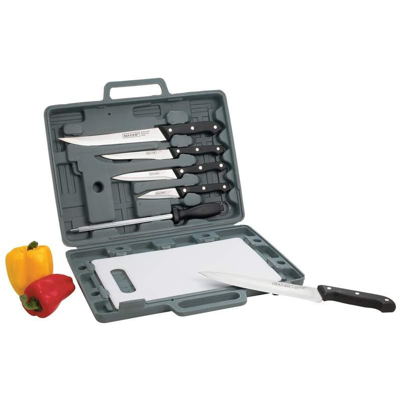 Maxam Knife Set with Cutting Board from B&F System, Inc.