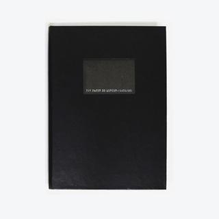 315 Paper De Mercer Series Note Book (S) Black - One Size from BABOSARANG