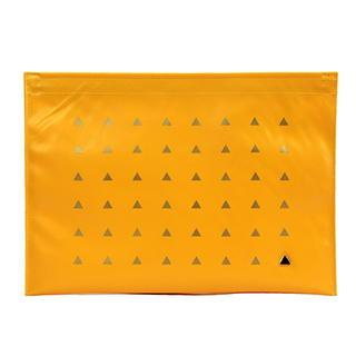 Faux-Leather Pouch Yellow - One Size from BABOSARANG