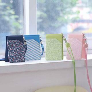 Folder Card Holder with Neck Strap from BABOSARANG