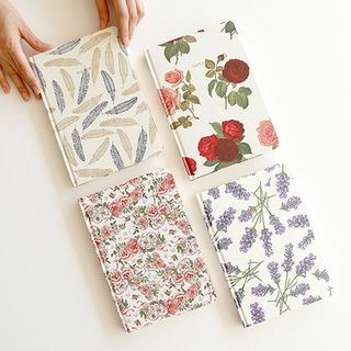 Hard-Cover Floral Diary (S) from BABOSARANG