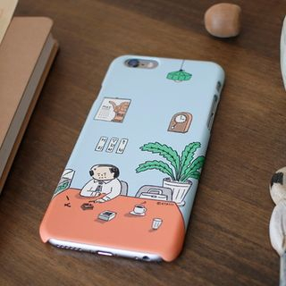 Illustration iPhone Case from BABOSARANG