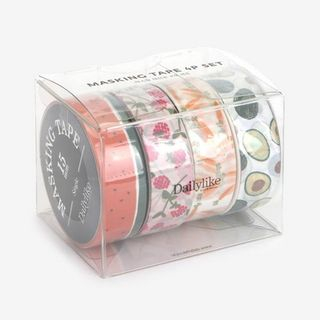 Set of 4: Fruits Masking Tape Multicolor - One Size from BABOSARANG