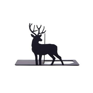 Urban Series Book End - Buck Male Deer - Black - One Size from BABOSARANG