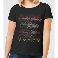 Back To The Future Back In Time for Christmas Women's T-Shirt - Black - L - Black from Back To The Future