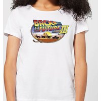 Back To The Future Lasso Women's T-Shirt - White - XL - White from Back to the Future