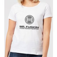Back To The Future Mr Fusion Women's T-Shirt - White - XL - White from Back to the Future