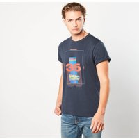 Back to the Future Thirty Five Unisex T-Shirt - Navy - XXL - Navy from Back to the future
