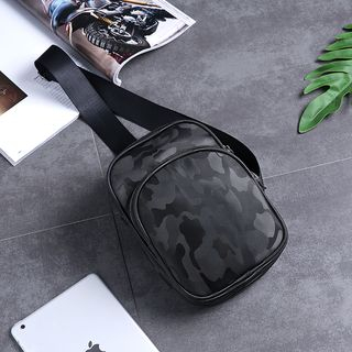 Camo Nylon Sling Bag from BagBuzz
