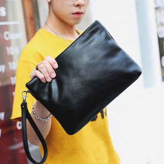 Faux Leather Clutch from BagBuzz