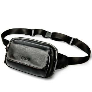 Faux Leather Waist Bag from BagBuzz
