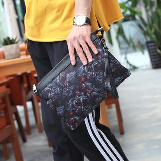 Printed Clutch from BagBuzz