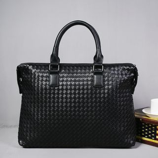 Woven Briefcase from BagBuzz