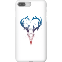 Balazs Solti Antlers Phone Case for iPhone and Android - iPhone 8 Plus - Snap Case - Gloss from Balazs Solti
