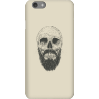 Balazs Solti Bearded Skull Phone Case for iPhone and Android - iPhone 6S - Snap Case - Matte from Balazs Solti
