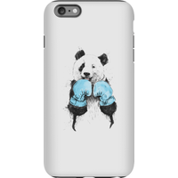 Balazs Solti Boxing Panda Phone Case for iPhone and Android - iPhone 6 Plus - Tough Case - Matte from Balazs Solti