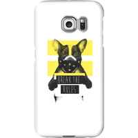Balazs Solti Break The Rules Phone Case for iPhone and Android - Samsung S6 Edge Plus - Snap Case - Matte from Balazs Solti