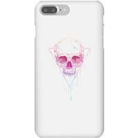 Balazs Solti Colourful Skull Phone Case for iPhone and Android - iPhone 7 Plus - Snap Case - Gloss from Balazs Solti