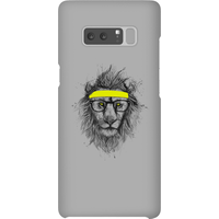 Balazs Solti Lion And Sweatband Phone Case for iPhone and Android - Samsung Note 8 - Snap Case - Gloss from Balazs Solti