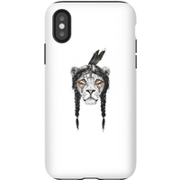 Balazs Solti Native Lion Phone Case for iPhone and Android - iPhone X - Tough Case - Matte from Balazs Solti